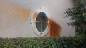 Rust-Removal-Stucco-Before