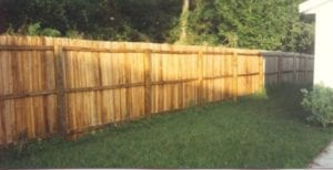 East Hanover Fence Cleaning