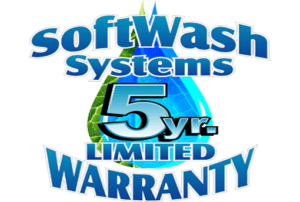 Softwash Systems 5 Year Limited Warranty
