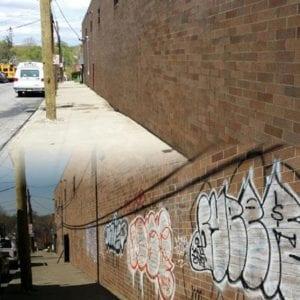 North New Jersey Graffiti Removal