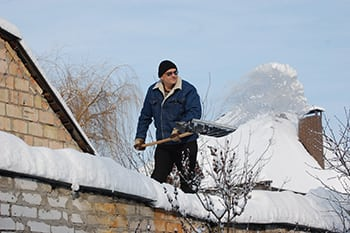 Professional Rooftop Snow Removal Service